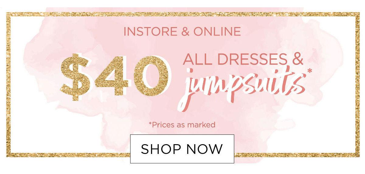 $40 Dresses & Jumpsuits