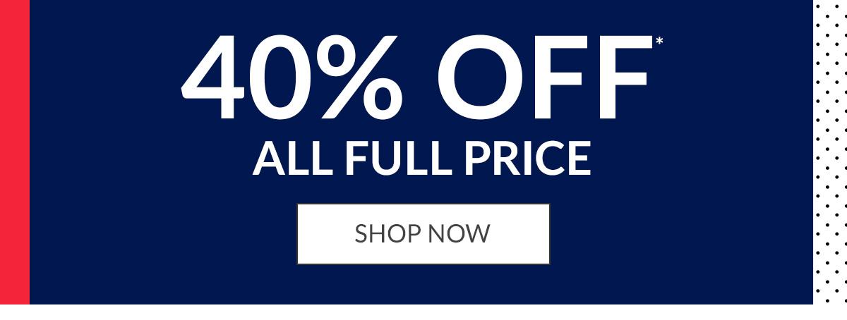 Shop 40% Off